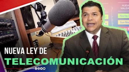 Tobías Crespo Trabaja Proyecto De Una Nueva Ley De Comunicaciones