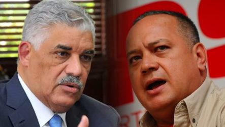 Canciller RD Califico Como Extremistas Las Declaraciones De Diosdado Cabello