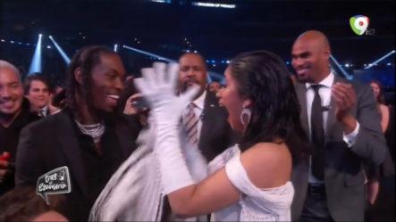 Magnolia Kasses Comenta Sobre La Premiación De Cardi B En Los Grammy – Tras El Escenario