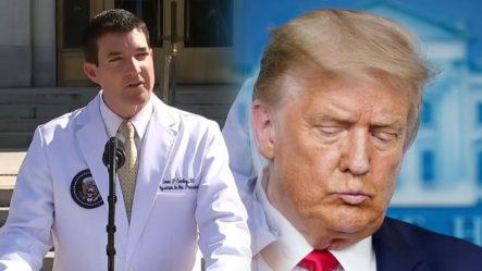 El Equipo Médico De Trump Afirma Que Ha Experimentado Bajas De Oxígeno En La Sangre