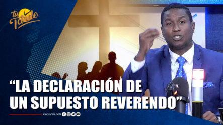 Eduardo Martínez: El Trabajo Del Enlace Del Poder Ejecutivo | Tu Tarde By Cachicha