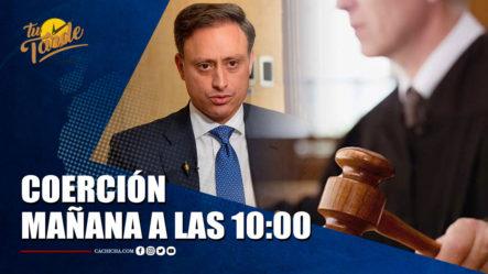 Conocerán Coerción Contra Jean Alain Y Grupo Mañana A Las 10-00 | Tu Tarde By Cachicha