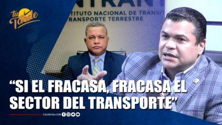 Diputado Tobías Crespo Sobre La Ley 63-17 Y El INTRANT    Tu Tarde By Cachicha