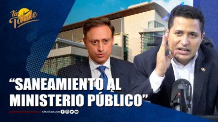 Félix Luna Hace Llamado Para Hacer Saneamiento Del Ministerio Público   Tu Tarde By Cachicha
