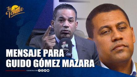 Emilio López Le Manda Mensaje Claro A Guido Gómez Mazara   Tu Tarde By Cachicha