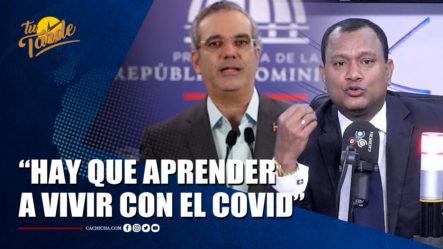 Manuel Rojas En Apoyo A La Iniciativa Del Presidente Abinader | Tu Tarde By Cachicha