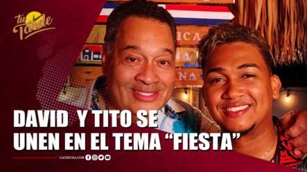 "Tito Nieves Invitó A David Kada A Cantar El Tema ""Fiesta""   Tu Tarde By Cachicha"