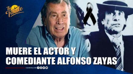 Muere El Actor Y Comediante Alfonso Zayas, Icono Del Cine Y La TV Mexicana   Tu Tarde By Cachicha
