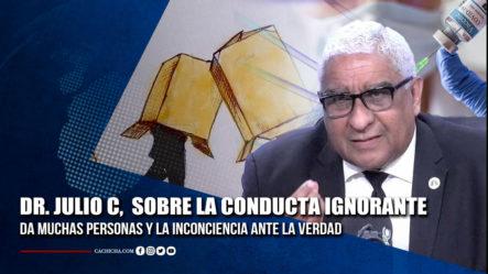Dr. Julio Castro Habla Sobre Conducta De La Gente Ante El Proceso De Inmunización | Tu Tarde By Cachicha