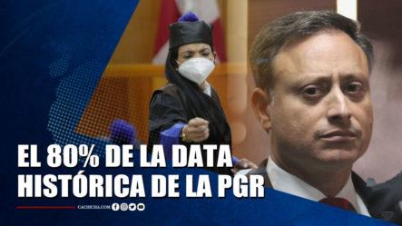 El 80% De La Data Histórica De La Procuraduría General Fue Destruida, Dice Yeni Berenice   Tu Tarde By Cachicha