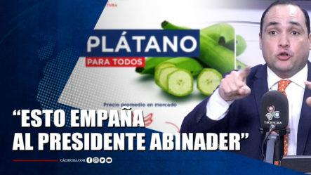 José Rosario Le Cae Encima Al Tweet Del Ministerio De Agricultura Sobre Los Plátanos | Tu Tarde By Cachicha