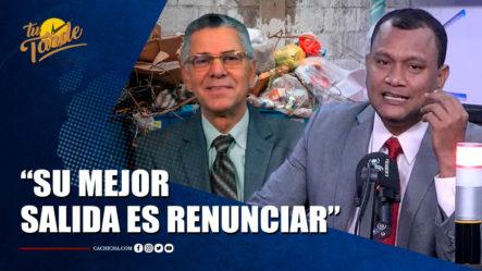Manuel Rojas Dice Que La Mejor Salida De Manuel Jiménez, Es Que Renuncie   Tu Tarde By Cachicha