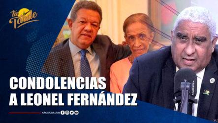 Las Condolencias Del Dr. Julio Castro Para Leonel Fernández   Tu Tarde By Cachicha