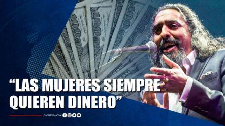 """Diego """"El Cigala"""" Tras Salir En Libertad- """"Las Mujeres Siempre Quieren Dinero""""   Tu Tarde By Cachicha"""