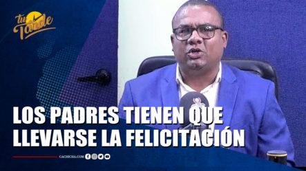 """Gabriel Sánchez Dice """"Los Padres Tienen Que Llevarse La Mayor Felicitación Posible"""" – Tu Tarde By Cachicha"""