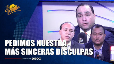Pedimos Nuestra Más Sinceras Disculpas   Tu Tarde By Cachicha