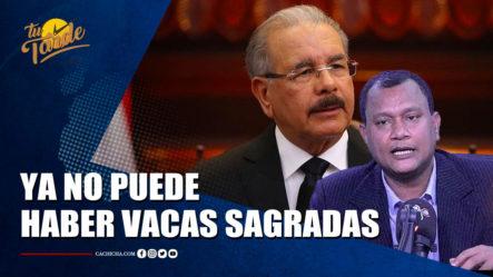 Manuel Rojas Dice Que No Quiere Pensar Que En Este Gobierno Hay Vacas Sagradas   Tu Tarde By Cachicha