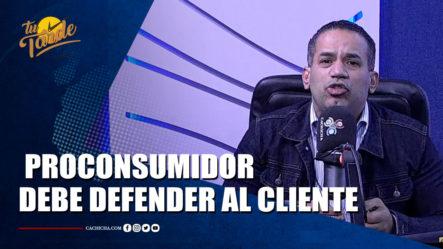 Emilio López Da Hace Comentario A Pro Consumidor | Tu Tarde By Cachicha