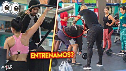 VOY AL GIMNASIO VESTIDO DE VAGABUNDO Y PASA ESTO…