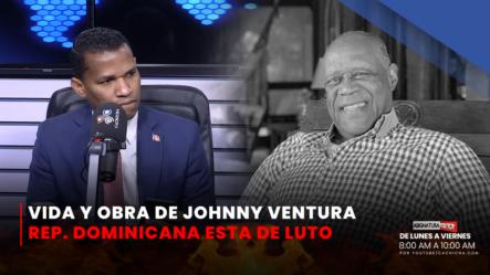 Johnny Ventura Una Gloria Del Merengue Hasta Sus últimos Días 2/2   Asignatura Política