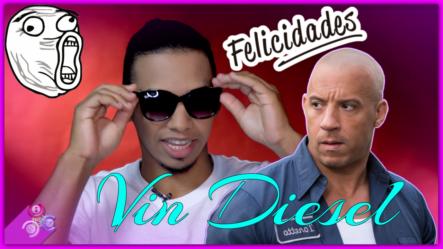 """Vin Diesel Se Estrena Como Cantante Con El Tema """"Felicidades"""" Y Hasta Menciona La Cultura Dominicana – Cachi News"""