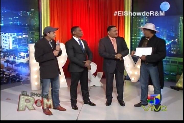 Los Reyes Del Humor Reciben Visitas «El Show De Raymond Y Miguel»
