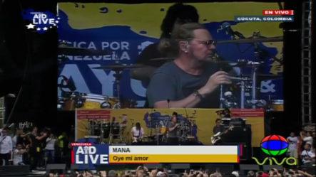 Presentación De Mana En Venezuela Aid Live