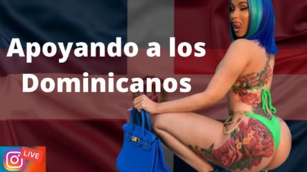 CARDI B En Beba Y Apoyando A Los Dominicanos – LIVE INSTAGRAM | Brechan2