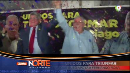 Apoyo De José Enrique Sued A Fernando Rosa Por La Sindicatura De Santiago
