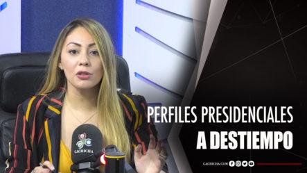 Perfiles Presidenciales A Destiempo Según Iluminada Muñoz