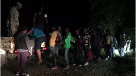 Drones Captan Momento En Que Indocumentados Haitianos Tratan De Ingresar A RD