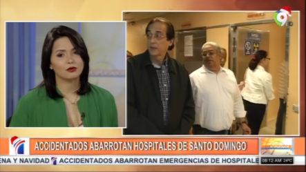 Accidentados Abarrotaron Los Hospitales De Santo Domingo En Estas Festividades