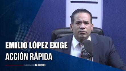 Emilio López Le Exige Acción Rápida Al Gobierno Sobre Caso Secuestro En Haití