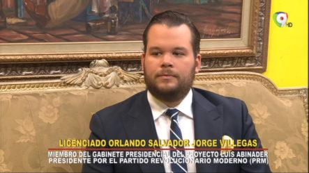 Entrevista A El Lic. Orlando Salvador Jorge Villegas