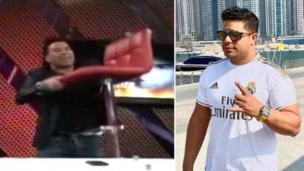"""Cristian Casablanca Amenaza Con """"romperle La Cabeza"""" Con Su Silla A Alexander Iglesias"""