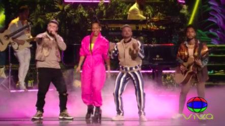 Excelente Presentación De Alicia Keys Y Pedro Capo En Los Latin Grammys