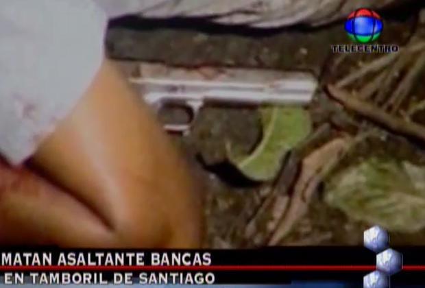 Comunidad Mata Atracador De Bancas En Santiago #Video