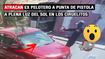 Atracan A Ex Pelotero A Plena Luz Del Día En Los Ciruelitos