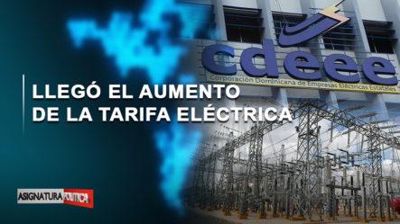 🔴 EN VIVO: Llegó El Aumento De La Tarifa Eléctrica   Asignatura Política
