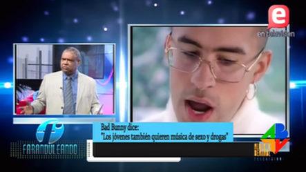 Lo Que Opina Aridio Castillo Sobre  Presentación De Bad Bunny En Premios Soberanos