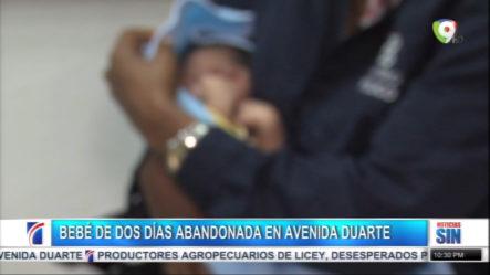 Más Detalles Sobre Bebé Recién Nacido Encontrado Abandonado En Avenida Duarte