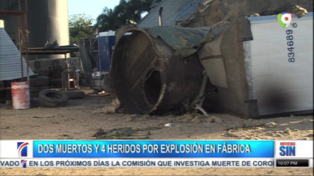 Más Detalles Sobre La Caldera Que Explotó En Los Alcarrizos Y Dejó Dos Muertos Y Varios Heridos