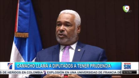 Presidente Camacho Llama A Miembros De La Cámara A Tener Prudencia Con Declaraciones Ante La Prensa