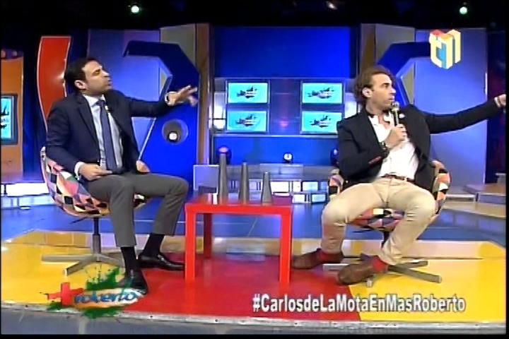 Entretenida Entrevista A Carlos De La Mota En Más Roberto