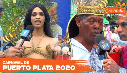 Mira Cuanto Se Goza En El Carnaval De Puerto Plata | La Ruta De Cachicha En Carnaval