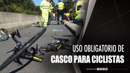 Comunicador Recomienda Uso Obligatorio De Casco Para Ciclistas