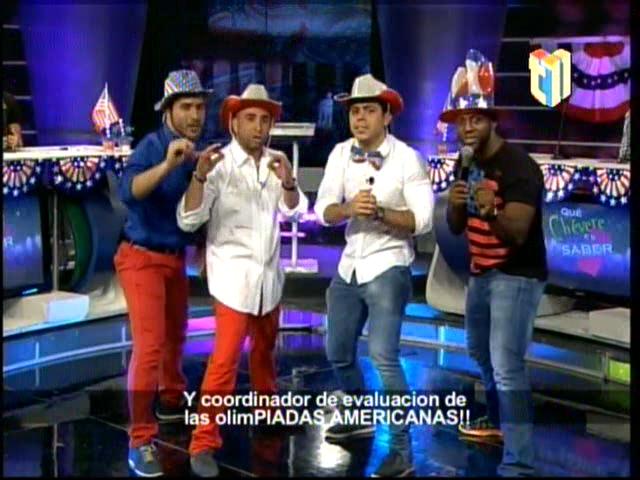 Chercha Con Los Presentadores Criollos Hablando Todos En Ingles En Que Chévere Es Saber #Video
