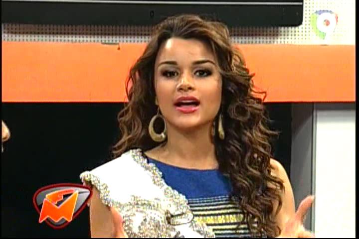 Entrevista A Clarissa Molina Miss RD Universo 2015 Con Manny Peralta #Video