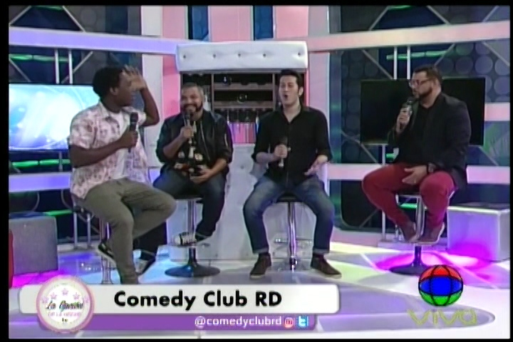 Los Chistes Con Los Muchachos De Comedy Club RD