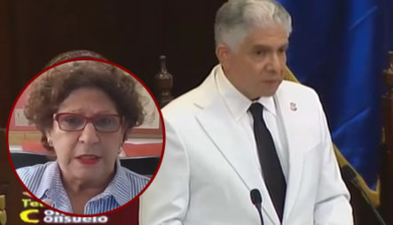 """Consuelo Despradel: """"Venir Del Balaguerismo A Hablar De Impunidad, Debe Ser Algo Difícil"""""""